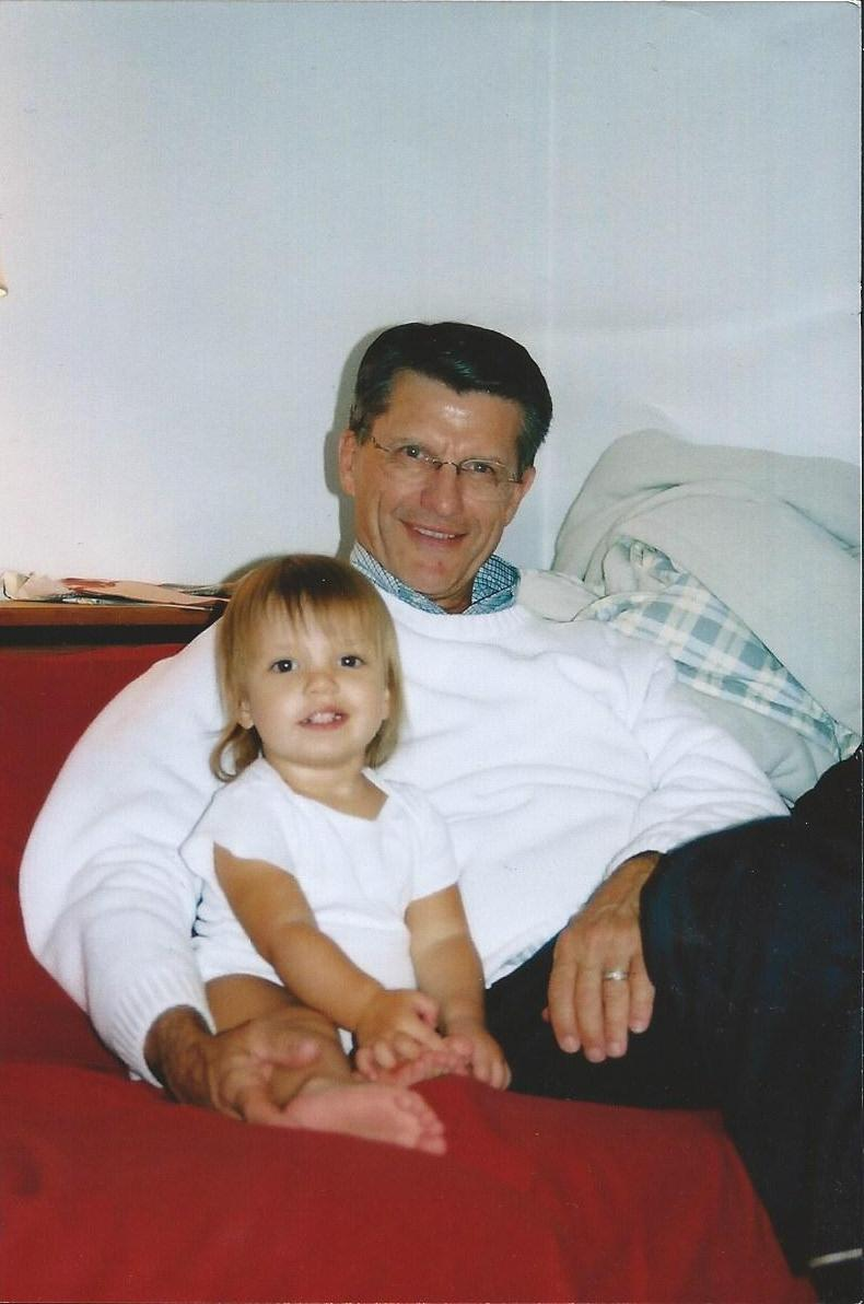Grampy with little Rylee