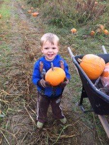 Finn's pumpkin