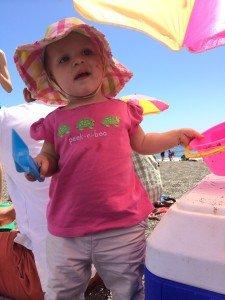 Little beach lady Liberty...
