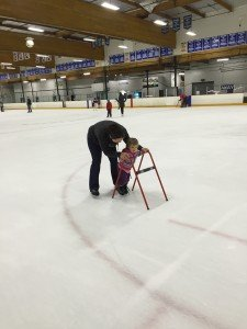 Your littlest sis - an almost aspiring ice skater :)